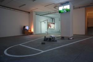 Ginan Seidl, Ray Peter Maletzki, Installationsansicht
