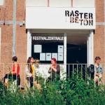 Die Festivalzentrale in der Stuttgarter Allee, ein Ort für Feste und Begegnungen, Nachweis: © Julia Debus