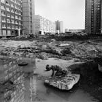 Leipzig-Grünau, WK4, Wilhelm-Pieck-Allee (heute Stuttgarter Allee), 1984, Nachweis: © Harald Kirschner