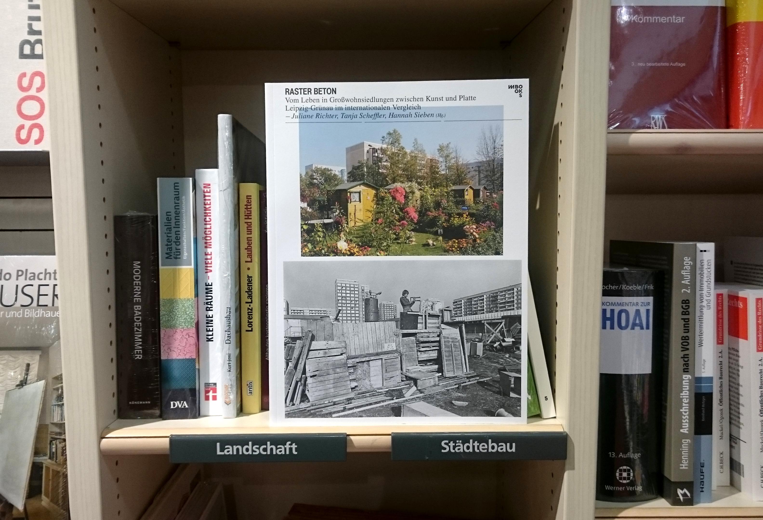Raster Beton, Cover, Verlag: M BOOKS